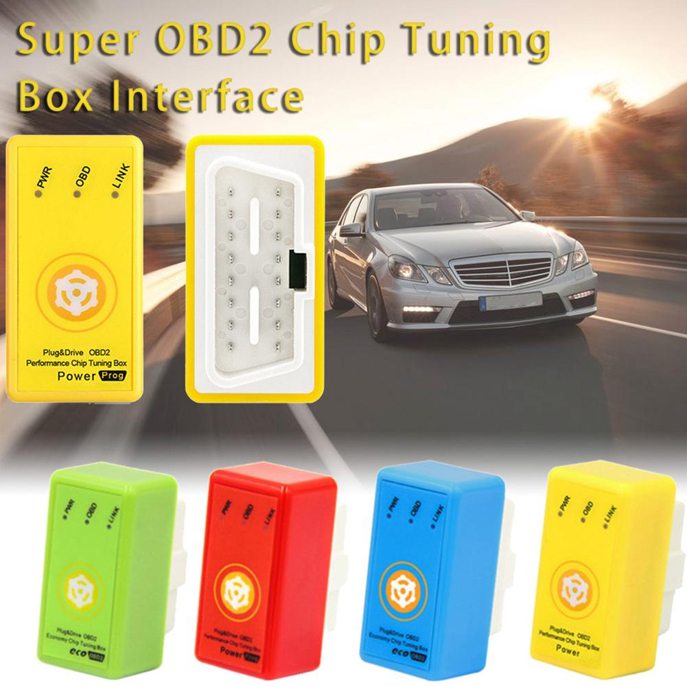 OBD2 Car Autos Off-Road Performance Tuning Chip Box Fuel Saver For Gas//Petrol