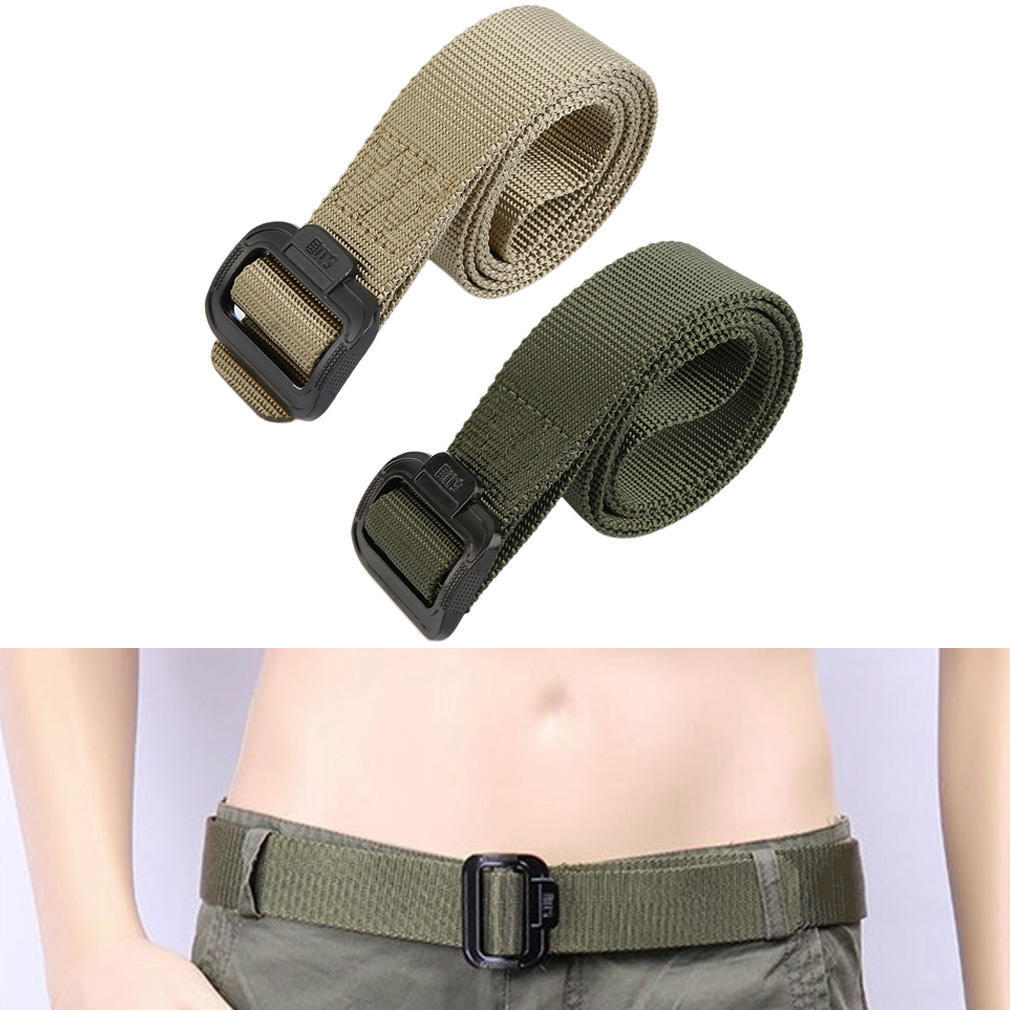 Tactical Waist Belt Combat Military Security Outdoor Army Nylon Duty Casual