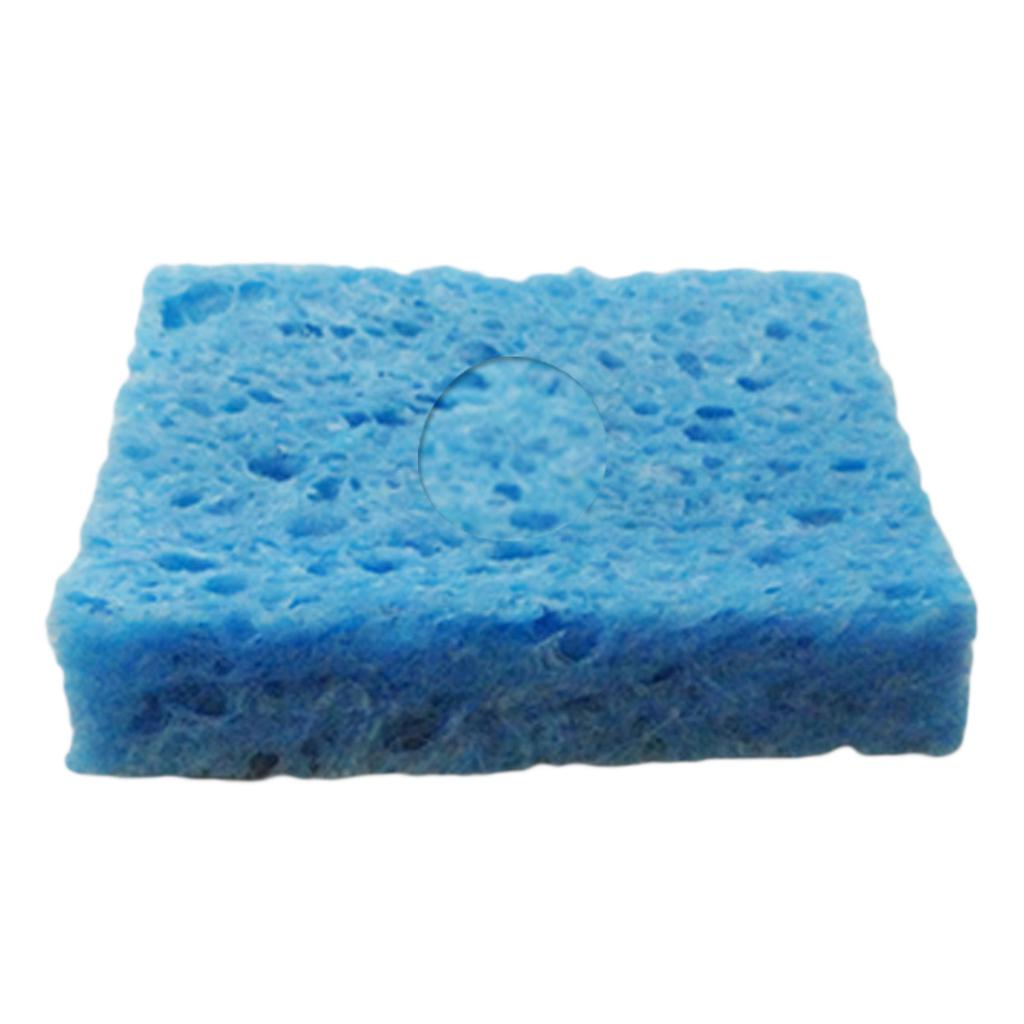 5pcs High Temperature Cleaning Sponge Soldering Iron Tip Welding Cleaning Pads