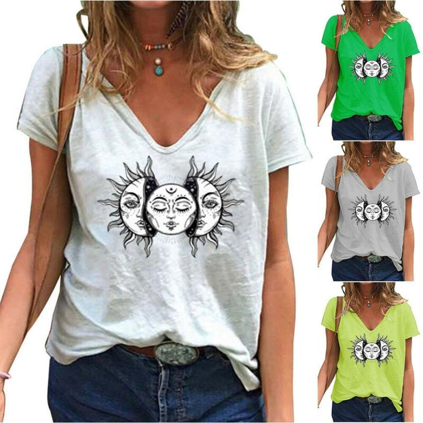 Womens Long Sleeve T-Shirt Flamingo Print Casual Loose Blouse Tops Tee Plus Size