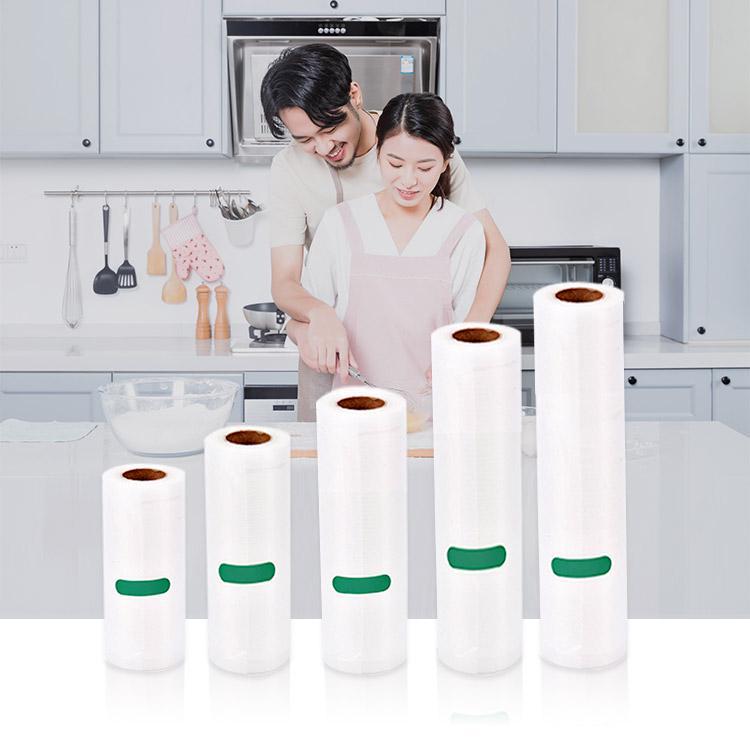 Kitchen Vacuum Sealer Bags Reusable Rolls Fresh-keeping Food Saver Storage Bag