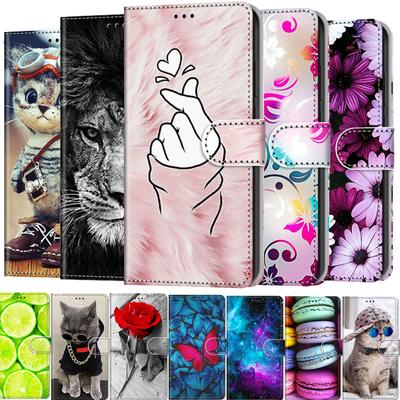 Case for Samsung Galaxy A50 A51 S10 3D Effect Painted PU Leather Wallet Flip Card Holder Kickstand Book Style Magnetic Clasp Cover