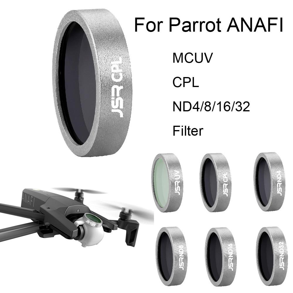 ANAFI-ND4 ND UV CPL Filter ND4 ND8 ND16 CPL UV Lens Filter for Parrot ANAFI Drone Neutral Density Polarizing Lens Filter Gimbal Camera Lens Accessories