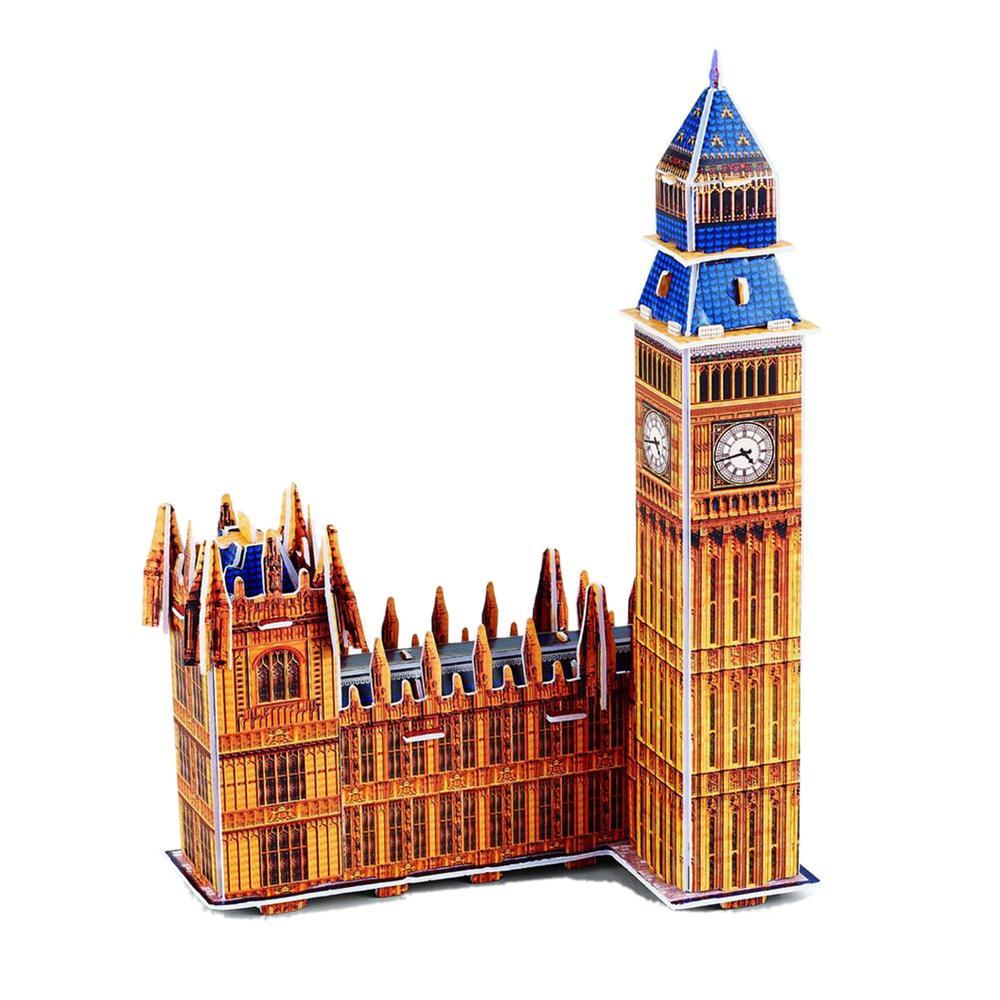 CubicFun 3D Paper Puzzle Model S3012H Notre-Dame de Paris DIY Building Toy 39pcs