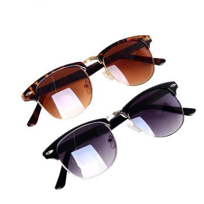 3d646f48b6 Classic Vintage Unisex marco oro redondas gafas gradiente mujeres hombres  anteojos