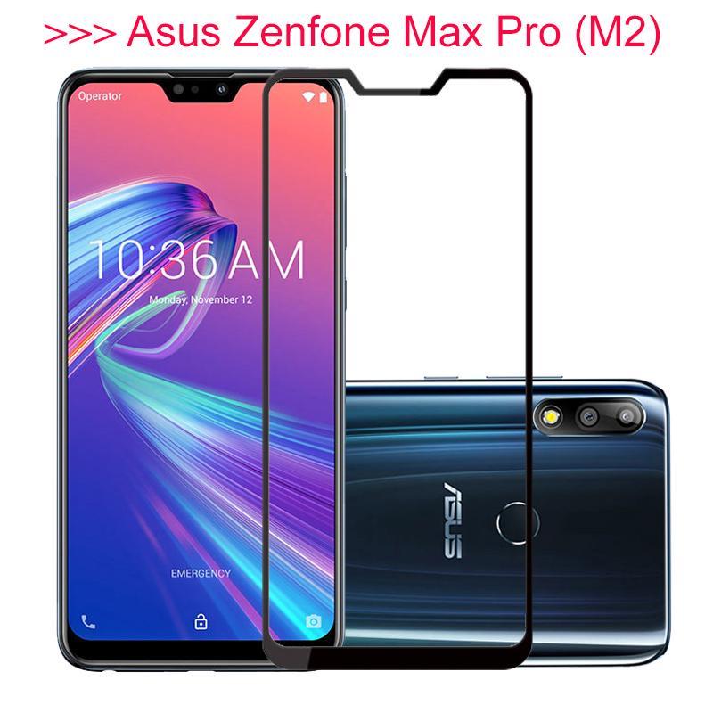 Полное покрытие стекла для Asus Zenfone Макс Pro м2 ZB631KL ZB631 kl ZB 633KL ZB633KL протектор экрана