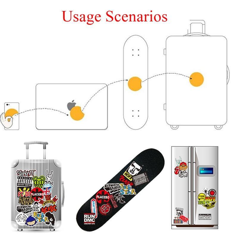 50Pcs Cute Cartoon Stickers DIY Laptop Luggage Guitar Bicycle Skateboard DecaKB