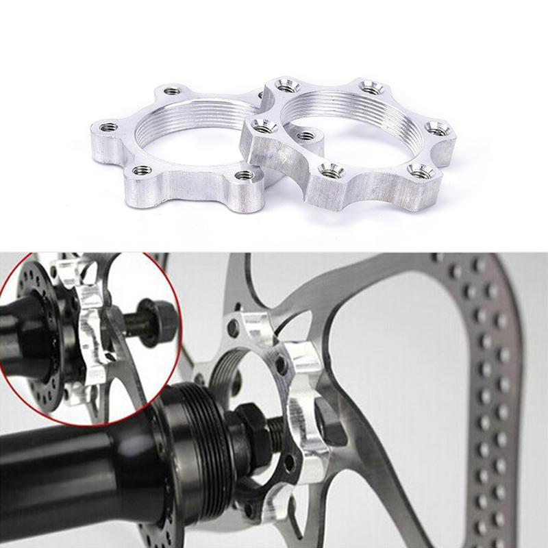 Mountain Bike Hub Disc Brake Rotor Adapter For Bicycle Freewheel Parts T9N4