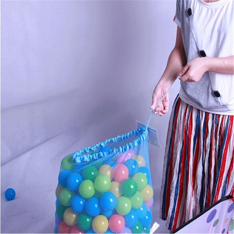 Kids Ball Pit Balls Storage Net Bag Toys Organizer for 200 Balls Without ba Mf69