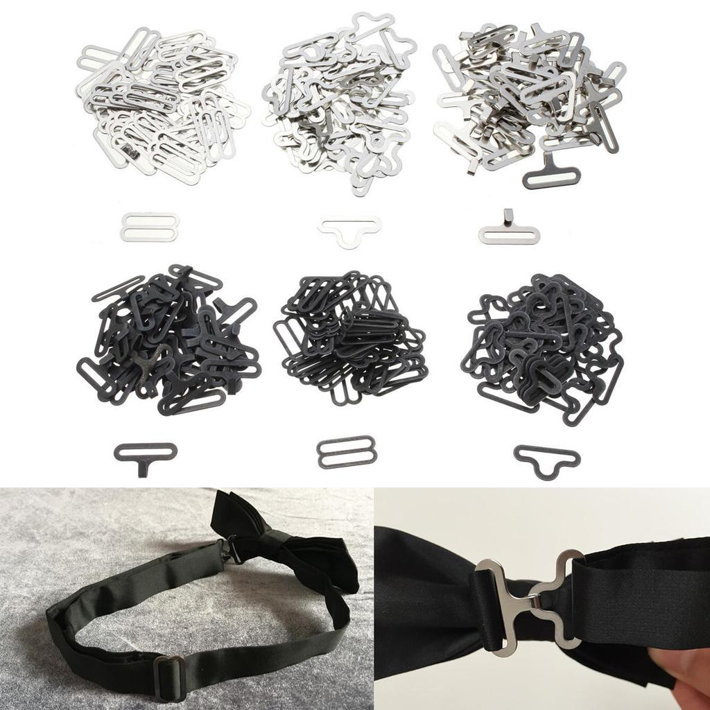 40 Sätze Fliege Clip Hardware Krawattenklammern Krawattenriemen Nähen