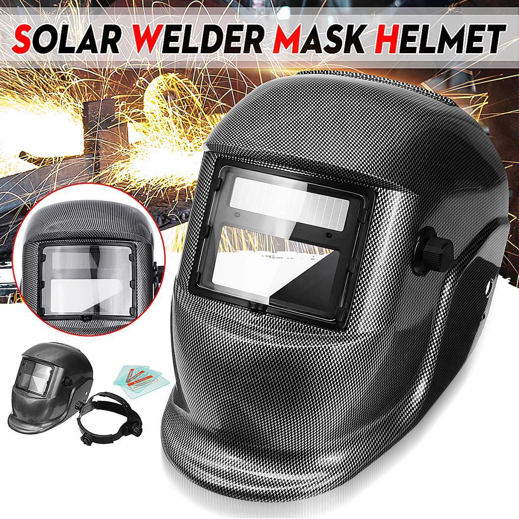 Black welding anti-glare glass PP Welding Mask Windproof Protective Mask