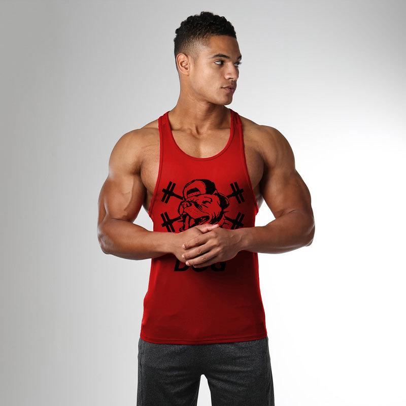 Men's Clothing Muscleguys Brand Gyms Shirt Bodybuilding Clothes Fitness Men Tank Top Workout Vest Stringer Tanktop Cotton Sportswear Undershirt Clear-Cut Texture Tank Tops