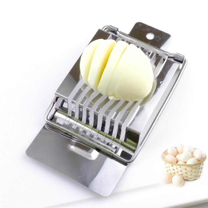 1Pcs Stainless Steel Kitchen Mushroom Cutter Tomato Eggs Slicer Section Cutters