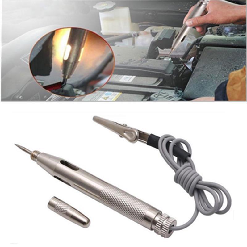 Peigu 6-24В DC авто автомобиль легкие цепи тестер лампа напряжения ручка детектор пробник фото