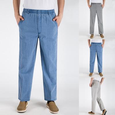 3dd7f2ac6a137d8 Плюс размер S-2XL 3 цвета моды мужчин хлопка комфорт мешковатые ретро брюк  брюки
