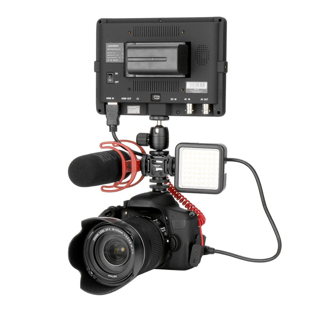 Underwater Video Light Stabilizer for Camera Flash Hot Shoe Mount
