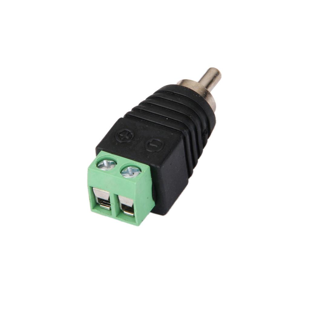 CAT5/CAT6 UTP-Kabel, Audio-Video Cinch Stecker Klinkenstecker – zu ...
