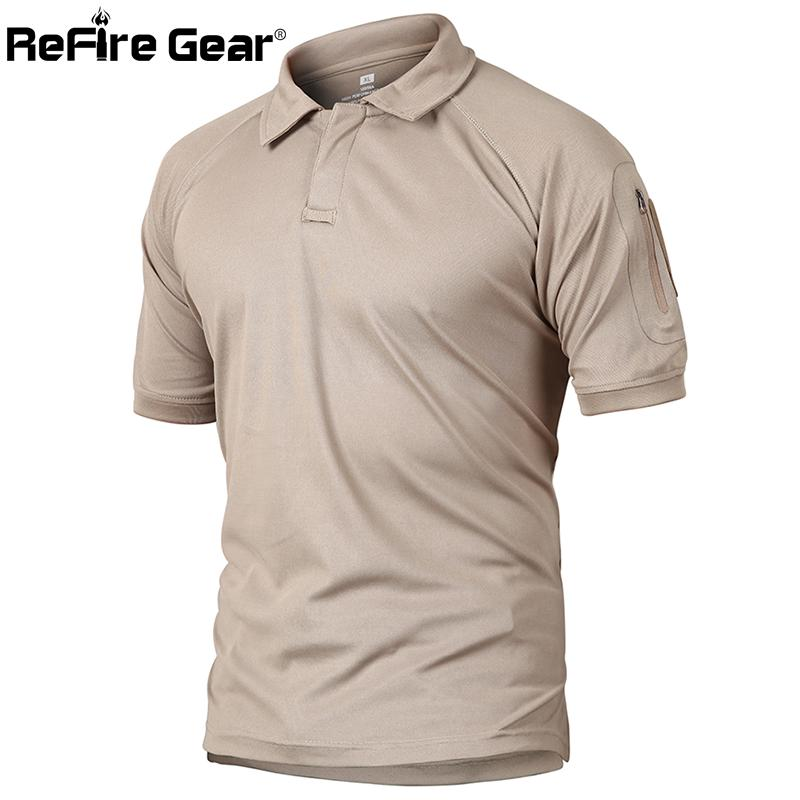 Polo Shirt Men Summer Us Army Camouflage Polo Man's Quick Drying Arm Pocket Polo Shirts-buy at a low prices on Joom e-commerce platform