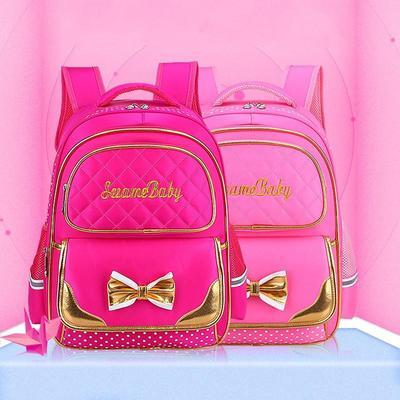 1ce6986799d7 Малыш девочек принцесса Bowknot Рюкзаки детей школа Сумки для Bookbags