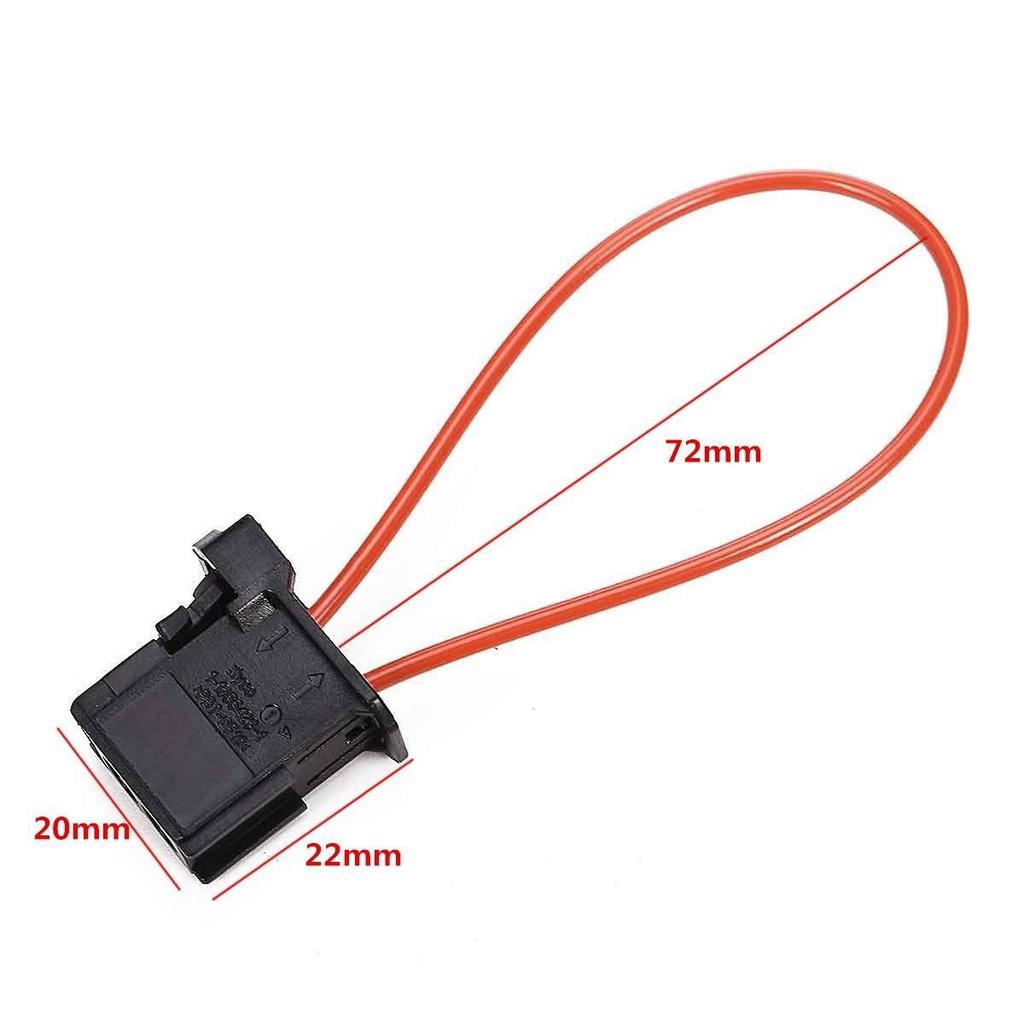 For Porsche Audi BMW Male MOST Optical Fiber Loop Connector Adaptor Terminator