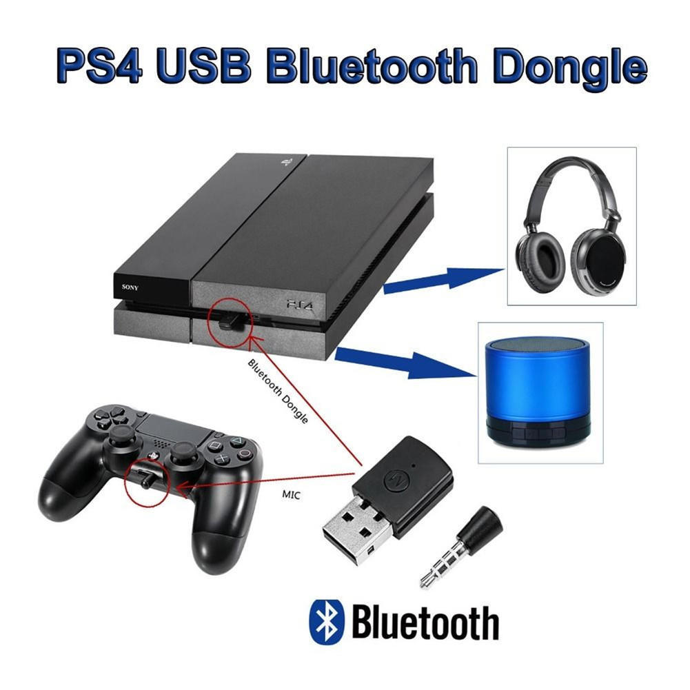 USB Bluetooth V4.0 Wireless Mini Adapter Dongle for Sonny PS4 Bluetooth Headsets