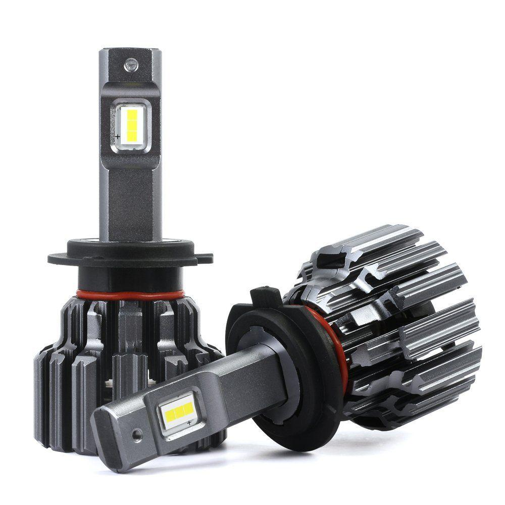 NOVSIGHT Pair H11//H8//H9//H16 LED Headlight Bulbs Conversion Kit 80W 14400LM 5500K