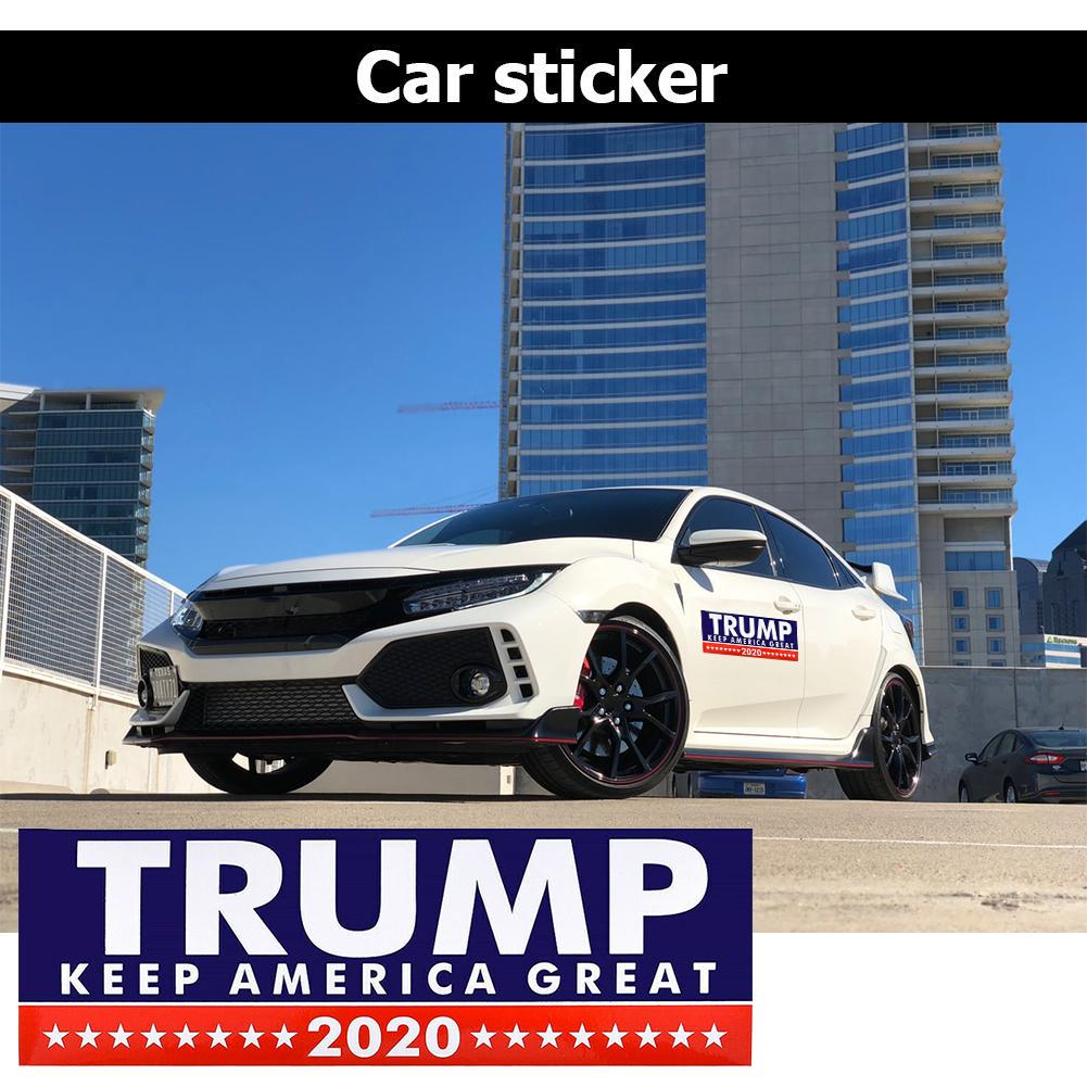 Trump 2020 Sticker 10 Pcs Five Different Sticker Designs Limited Time Offer Trump Bumper Stickers for Presidential Election PVC Sticker 10 pcs