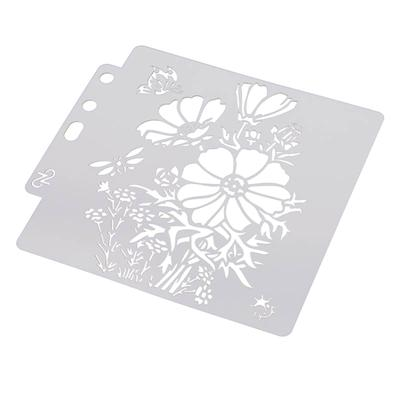 1 pc Drawing Stencil Art Painting Template for Cake Decor Craft DIY Scrapbooking