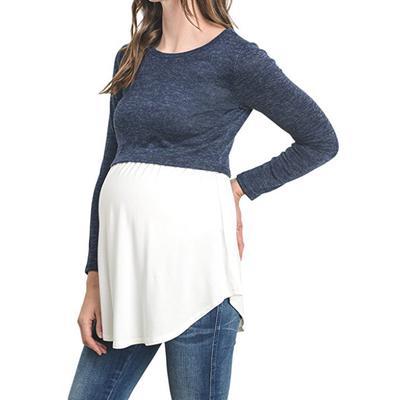 1c48d20d9 Camiseta de manga larga lactancia lactancia ropa embarazadas mujeres  maternidad
