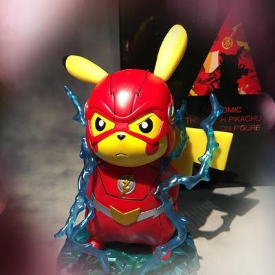 "Pokemon Pikachu Cosplay Deadpool 6/"" PVC Figure Toy Anime Collection Gift"