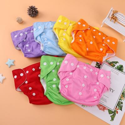 Baby Diapers Washable Reusable Cotton Training Pant Cloth Diaper Baby Winter Summer Eco-friendly