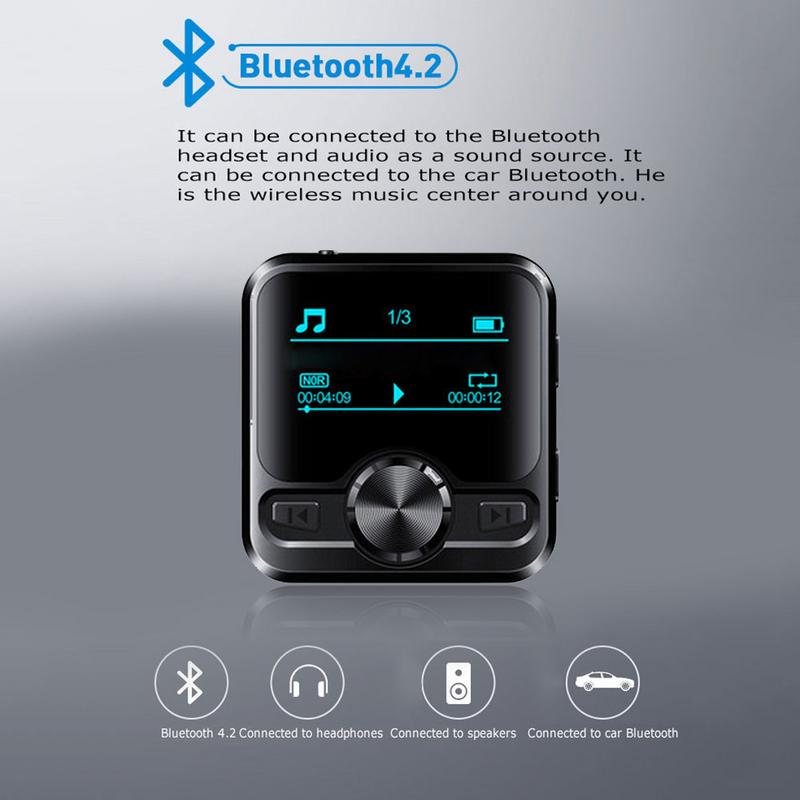 Bluetooth Mp3 Voice Recorder Hifi Mp3 Player Bluetooth Dsd Voice Recorder Pen Hifi Audio Fm Radio Buy At A Low Prices On Joom E Commerce Platform