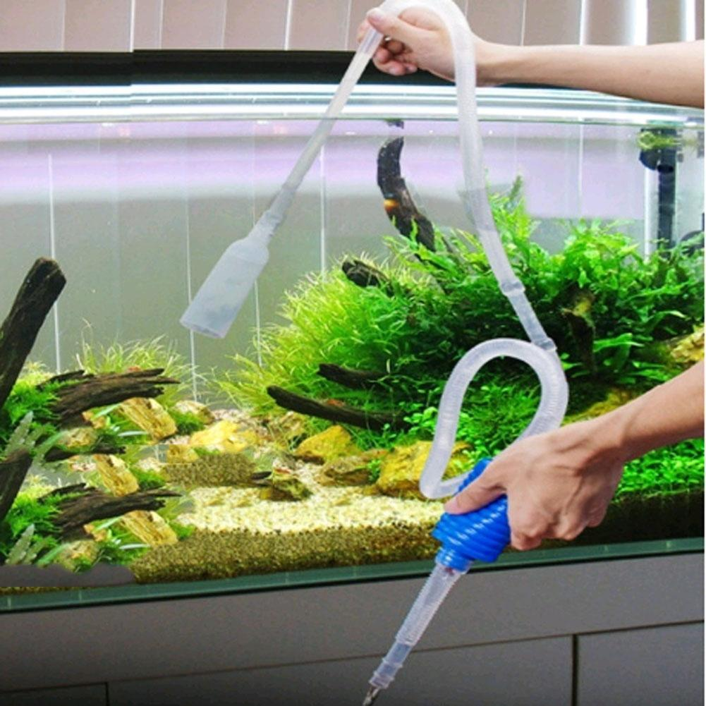 Cleaning & Maintenance The Cheapest Price New 1.8m Aquarium Water Change Tube Aquarium Fish Tank Vacuum Water Change Attractive Designs;