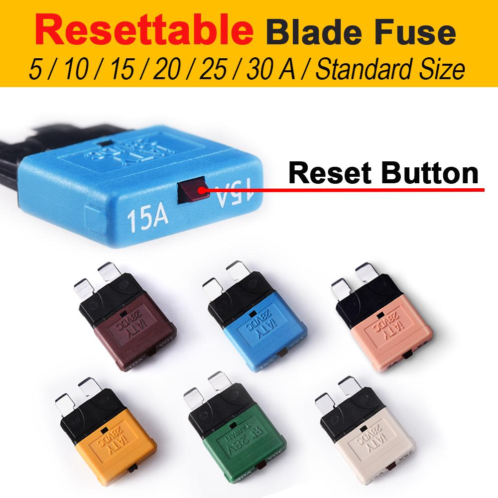 CAR BLADE FUSE REPLACEMENT Mini Standard Fuse Box Kit 5 10 15 20 25 30 AMP