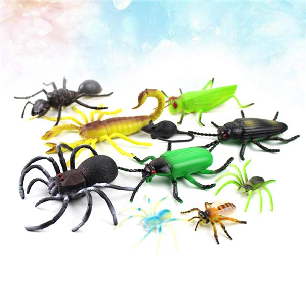 Vivid Arthropod Animal Rubber Spider Model Figure Kids Educational Toy Gift