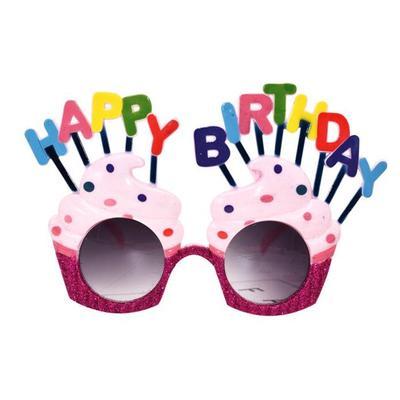 Novedad Feliz Helado Forma Cumpleaños Gafas Sol Parte De VUGqzMSp