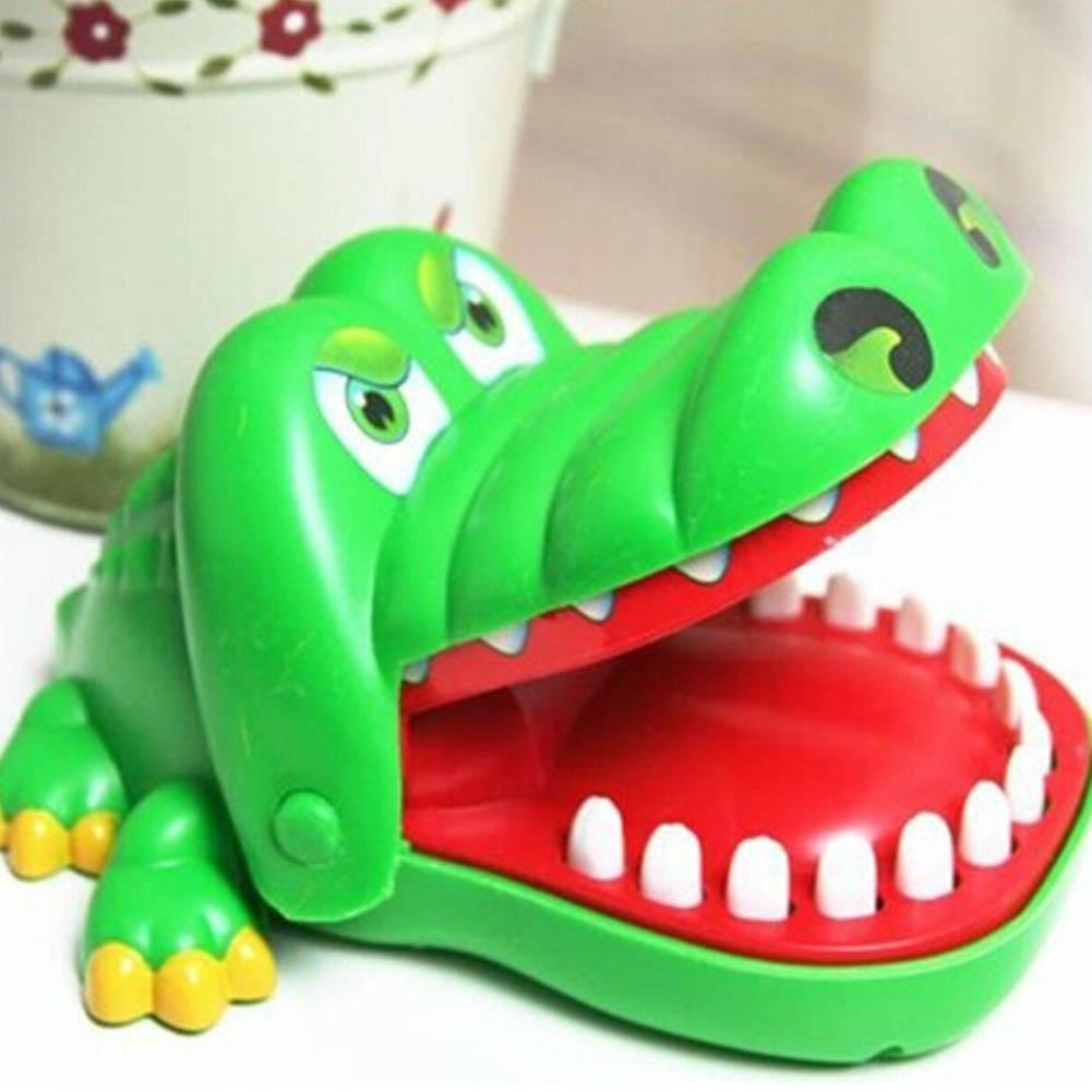 Lustig mini krokodil mund zahnarzt beißen finger spiel kinder spielzeug geschenk