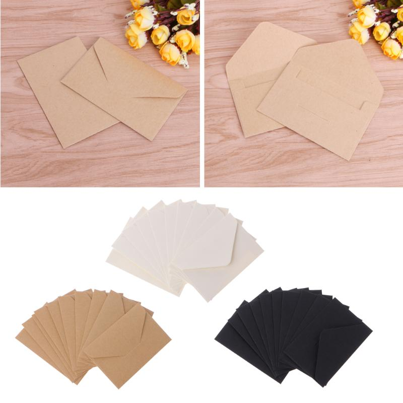 50pcs Lot Craft Paper Envelopes Vintage European Style Envelope