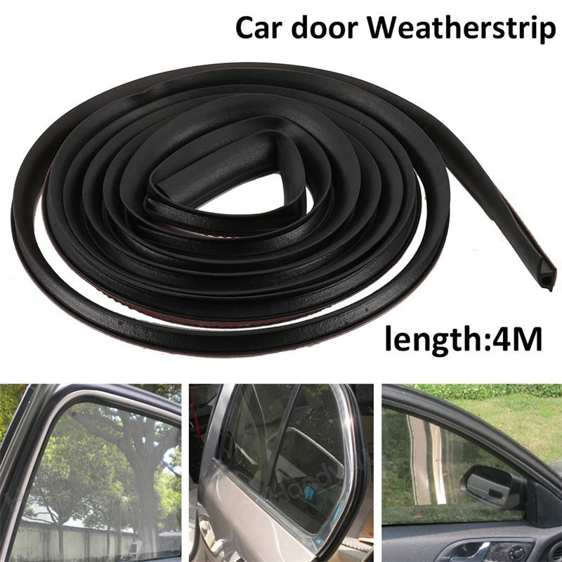 "Car Motor Door Weather Strip Hollow 157/"" 4M Weatherstrip New B-shape Rubber Seal"