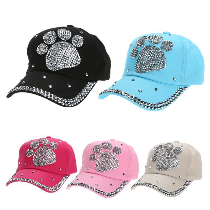 Ciruela de Dama flor pata diamante impresión tapa sombrero de béisbol -  comprar a precios bajos en la tienda en línea Joom c41d2ab14ca