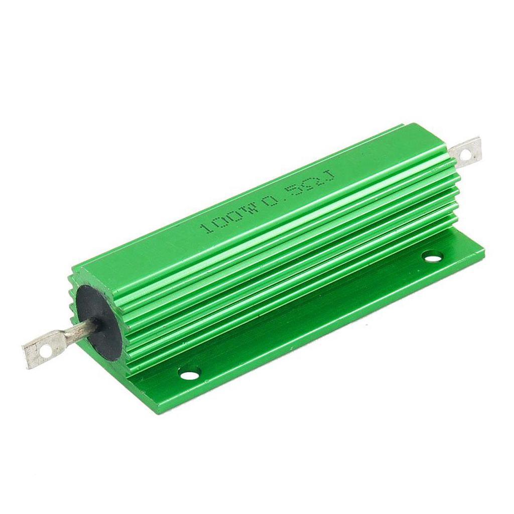 Resistor 100 W 1,8 Ohms 5/% Power Wirewound Aluminium Fil Résistance 1 pièces