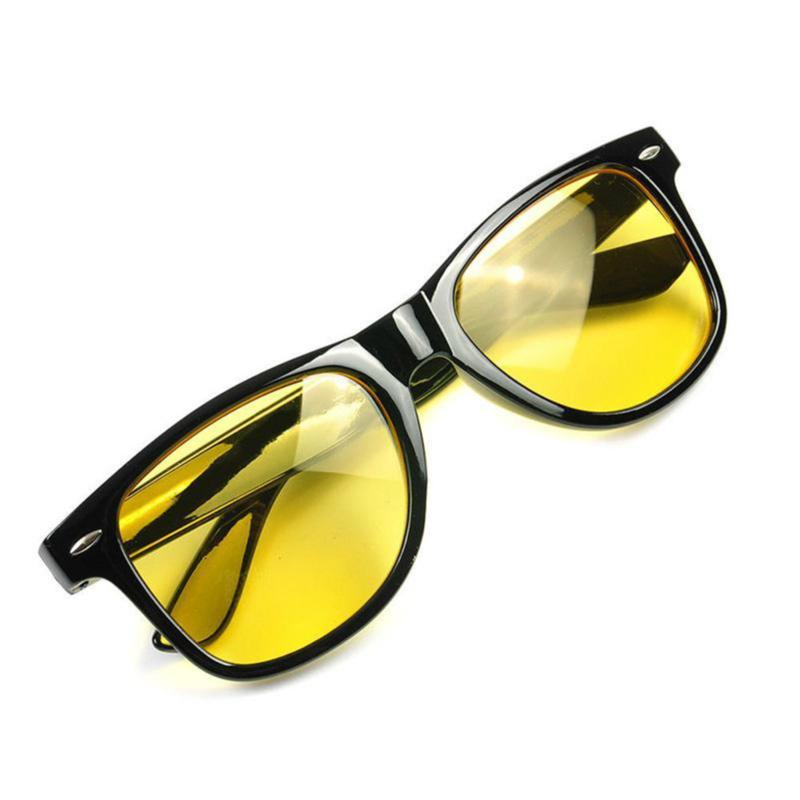 Yellow Driver Sunglasses Night Driving Anti Glare Vision HD Glasses Prevention