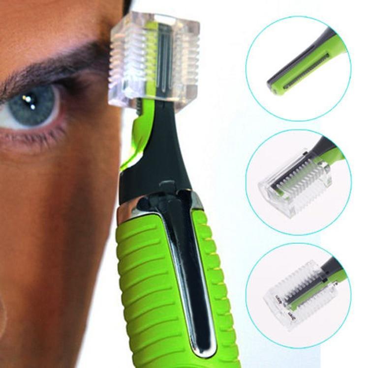 Мода унисекс личные волос триммер уха носа усы борода уход Kit фото