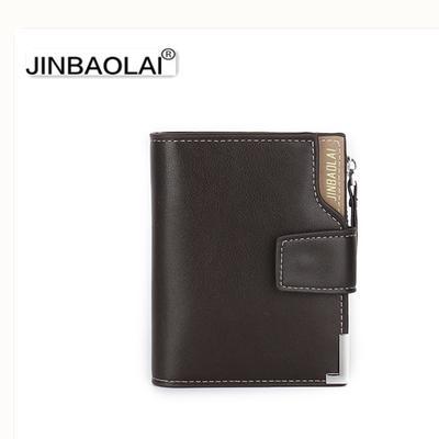 6e6e179214a45 Leder geldborse herren geldborse kurz mannlichen brieftasche leder  jinbaolai marke famous herren gel