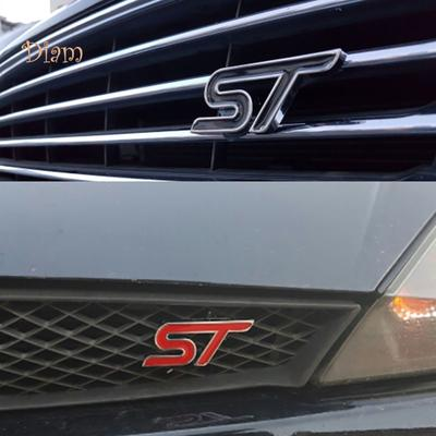 Car ABS Chrome Trim Handbrake Paillette//ST Decoration Stickers Case for Fiesta for Ecosport Auto Accessories Silver