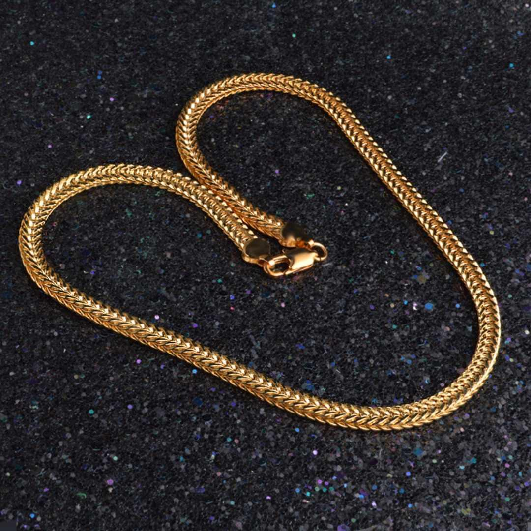 Peigu женщины мужчины женщины хип-хоп панк цепь связь ожерелье ювелирные изделия фото