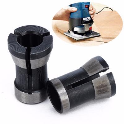 Magideal 1/pieza de aleaci/ón de 1//4/6.35/mm Adaptador de pinza de sujeci/ón para el recorte de m/áquina de grabado