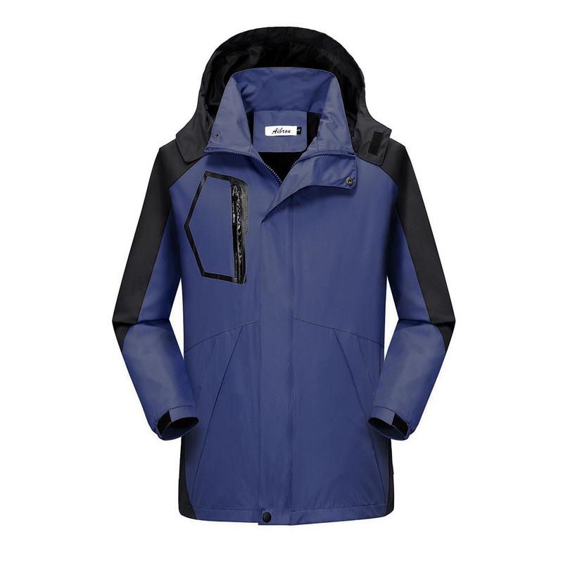 Homens exteriores impermeável casaco acampar caminhadas jaquetas chuva escalada pesca esporte blusão de caça