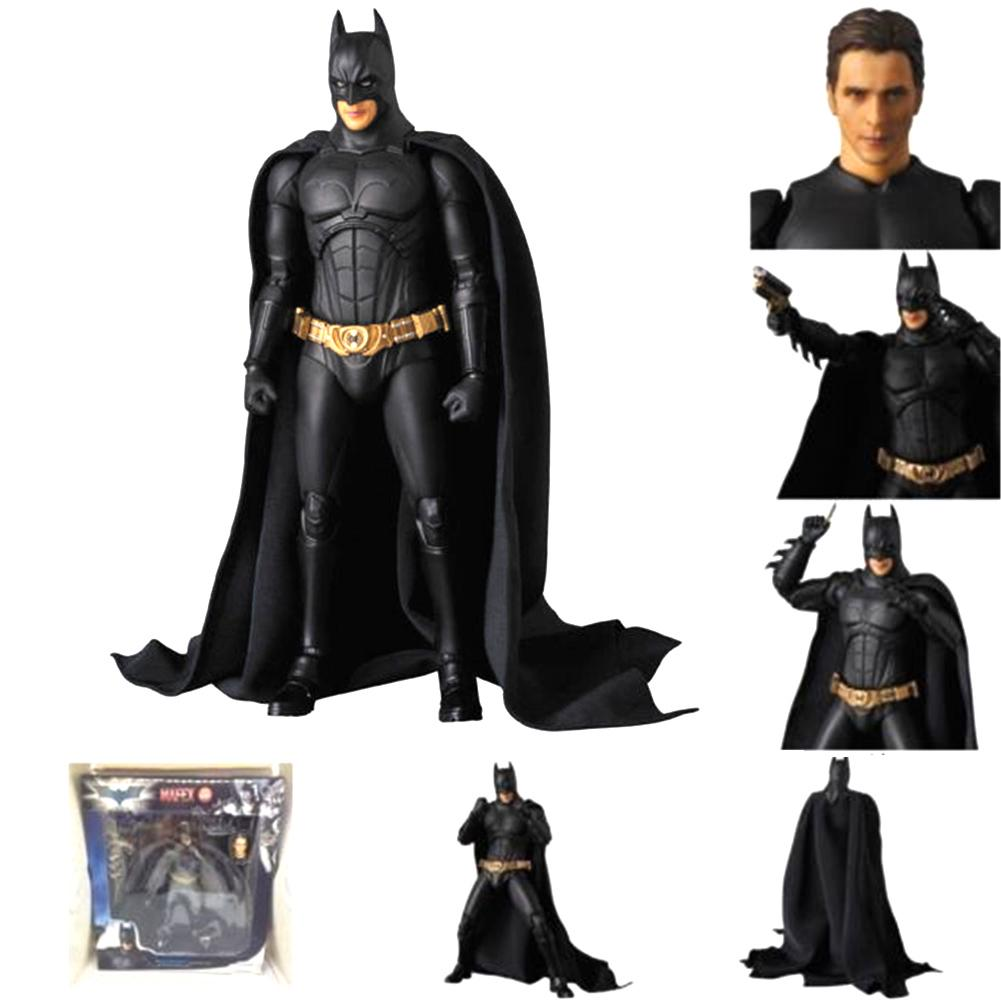 Mafex No 049 The Dark Knight Batman Begins Suit PVC Action Figure New In Box