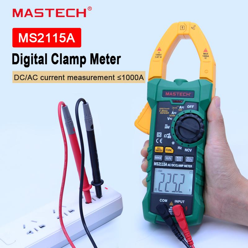 MCH-6008A Digital Clamp Multimeter AC DC Temperature and Frequency Capacitance6